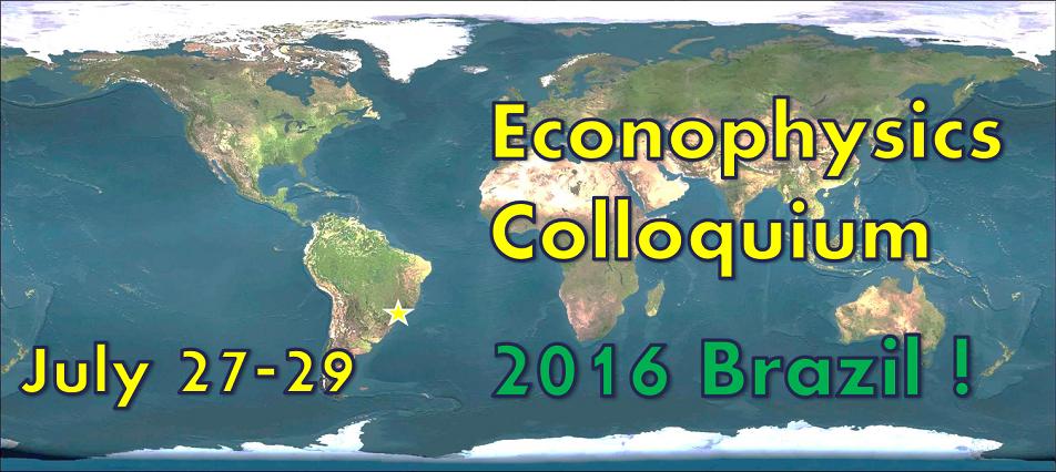 Econophysics 2016
