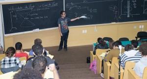 Pedro Vieira e seus alunos